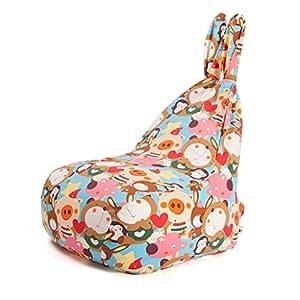 Amazon.com: MUBBS Kids Bean Bag Chairs Lazy Sofa Kids ...