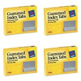 Avery Gummed Index Tabs, 50 Tabs (59106), 4 Packs