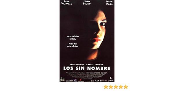 Los sin nombre (2004) [Blu-ray]: Amazon.es: Emma Vilarasau ...