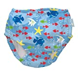 i play. Ultimate Swim Diaper, Light Blue Fish, Newborn