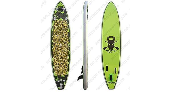 LJJY Tabla de Surf Hinchable para Adolescentes Principiantes ...