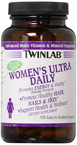 Twinlab Women's Ultra Daily Multivitamin Caps, 120 ()