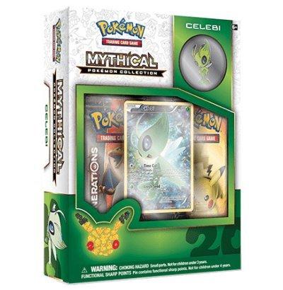 Mythical Pokémon Collection - Celebi! Includes 2 Packs a Promo Celebi and a Celebi Pin (Best Generation 2 Pokemon)
