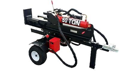 amazon com 50 ton 15hp 420cc hydraulic gasoline powered log wood