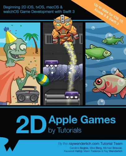 2D Apple Games by Tutorials: Beginning 2D iOS, tvOS, macOS & watchOS Game Development with Swift 3