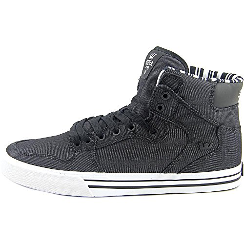 Scarpa Da Skate Supra Vaider Nero-bianca