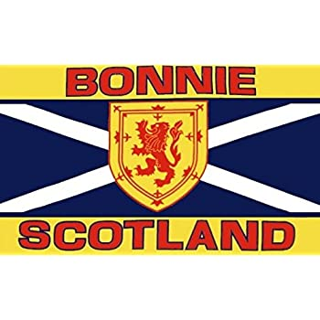 Scotland The Brave Scottish 3/' X 2/' 3ft x 2ft Flag With Eyelets Premium Quality