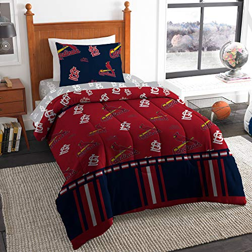 The Northwest Company MLB St. Louis Cardinals Twin Bed in a Bag Complete Bedding Set #761536710 ()