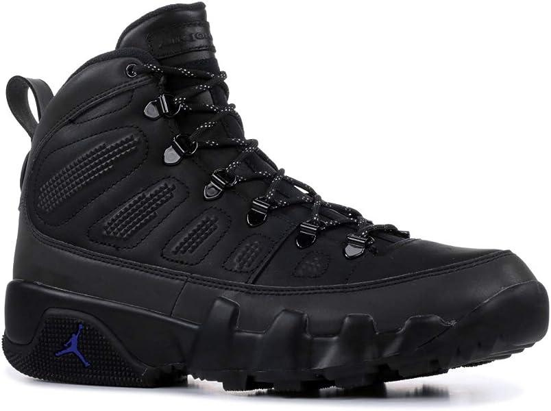 ffd8667796b Amazon.com | Nike Mens Jordan 9 Retro NRG Boot Black/Concord AR4491 ...