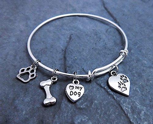 Budget Friendly Costume Ideas (Dog Lover Expandable Bangle Charm Bracelet)