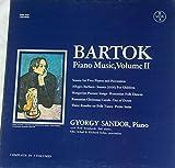 Bartok: Piano Music, Volume 2. Sonata; Allegro Barbaro, Hungarian Peasant Songs, Rumanian Folk Dances & Christmas Carols, Out of Doors, 3 Rondos, Petite Suite. G. Sandor, Piano