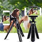 3Keys™ Mini Scalable Desktop Telescopic Tripod Support Phone Stand Holder - Black 3