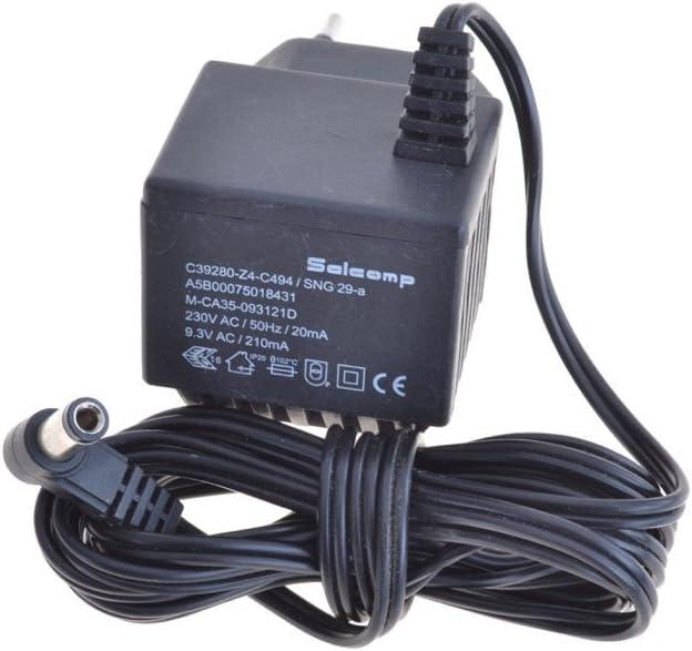 Original fuente salcomp c39280de Z4de c494SNG 29A (9,3V 210mA para Siemens Gigaset AS140, AS140, A120, A140A160,, A240, C32, C450