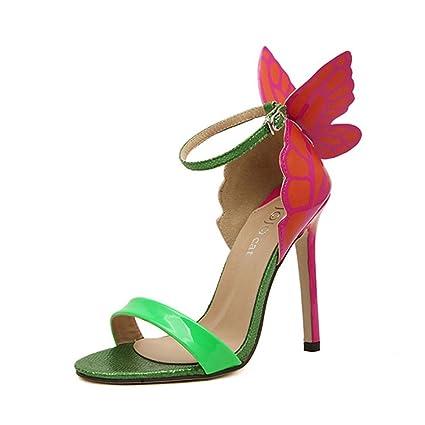 Single shoes - female ALUK- Europa e Stati Uniti - le ali delle farfalle  sandali 6cf84097de3