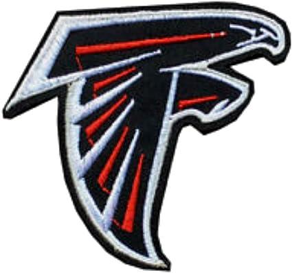 Atlanta Falcons IRON-ONS FABRIC APPLIQUES New