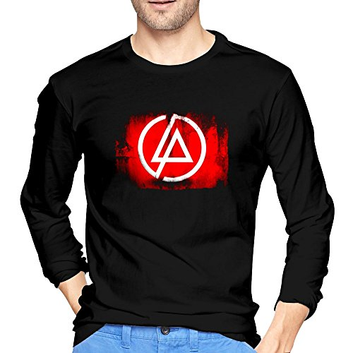 Clock Bennington (Jian Mans Linkin Park LP Logo The Hunting Party Long Black Tshirt)