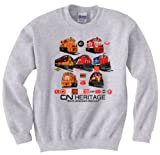 Canadian National Heritage Authentic Railroad Sweatshirt Youth Small (6-8) [102]