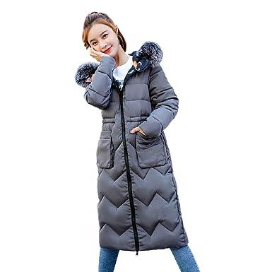 60c9d83fd013 Warm Long Coat Ladies Women Thick Fashion Winter Down Coat Jacket ...
