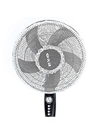Electric Fan Safety Cover for Protecting Kids Hands Protective Exquisite lace Grid Design Cover for Children Kids Babies