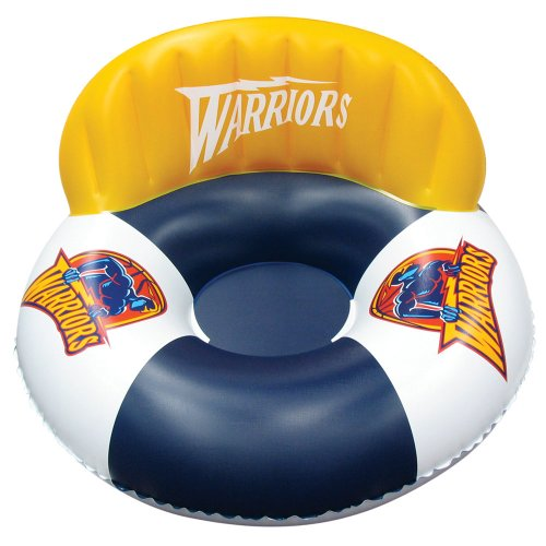 Poolmaster Golden State Warriors NBA Swimming Pool Float, Luxury Drifter (Team Sports Float Pool)