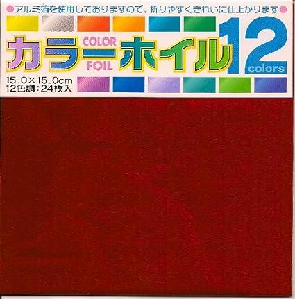 Amazon Com Assorted Colored Foil 6 In 15 Cm 12 Colors 24