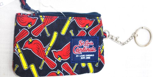 St Coin Louis (St Louis Cardinals MLB Special fabric ID case change purse)