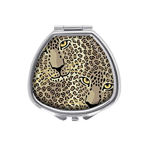 Cats Silver Spotted - Luxcase Spotted Cats Custom Sector Silver Pill Box Pocket Medicine Tablet Holder Pill Decorative Case Wallet