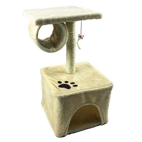Marco De Escalada para Gatos, Doble Escalada De Gato Y Lugar De Actividad Lujoso Alojamiento