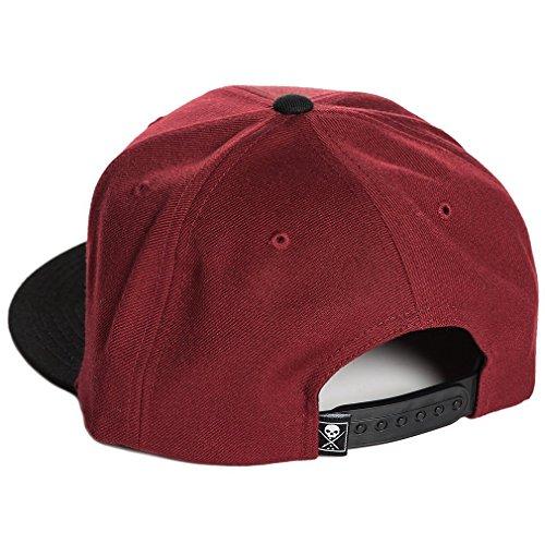 Talla Rojo para Gorra Hombre Rojo única Béisbol Sullen Clothing de wfCvvq