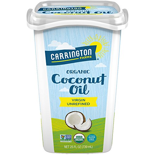 Carrington Farms Organic Coconut Oil, Gluten Free, Non-GMO Verified, 25 Ounce (Pack of 6) by Carrington Farms (Image #4)