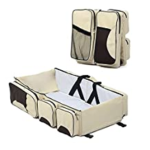 S-power 3 In 1 Baby Care Bag - Travel Bed, Diaper Bag