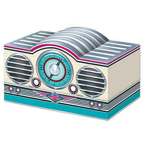 3-D Rock and Roll Radio Centerpiece