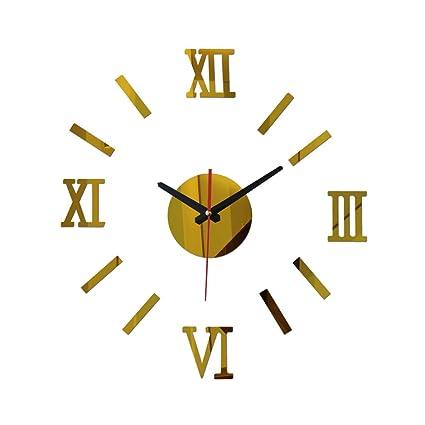 DIY Wall Clock Watch Clocks Modern Design Reloj De Pared Large Decorative Acrylic Quartz Living Room
