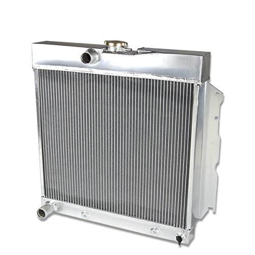 Full Aluminum 2-Row Racing Radiator for Dodge Charger/Coronet/Plymouth Belvedere 63-69 ()