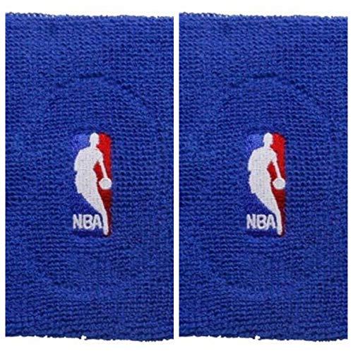 Logoman Basketball NBA Terry Cloth for Barefeet Sports Armband (Royal Pack 2)