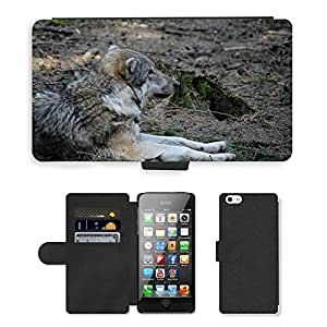 hello-mobile PU LEATHER case coque housse smartphone Flip bag Cover protection // M00137879 Lobo animal de piel del mundo Predator // Apple iPhone 5 5S 5G