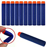 HeroNeo® 100Pcs Toy Gun Refill Foam Soft Darts Bullet For Nerf N-strike Series Blasters 7.2x1.2cm