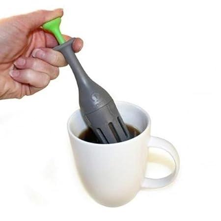 Amazon.com: 4 porción individual cafetera una taza filtro de ...