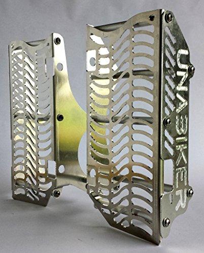 Unabiker KTM 08-15 250, 350, 450, 500, 505,530 4 Stroke Radiator Guards - Black (Guards Radiator Ktm)