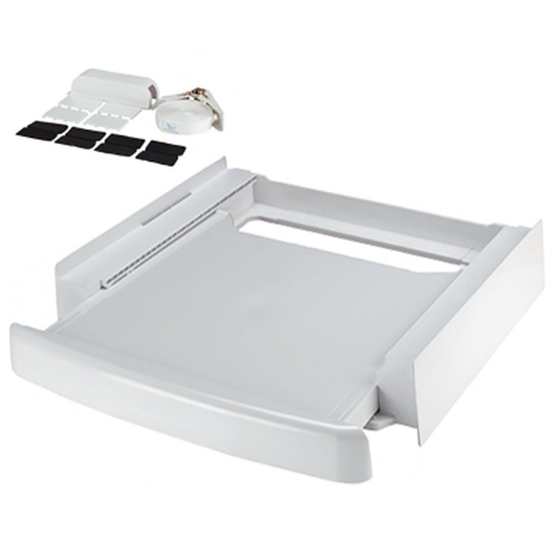 SPARES2GO Shelf Stacker Stacking Kit Tray Pullout for AEG Baumatic Washing Machine/Tumble Dryer
