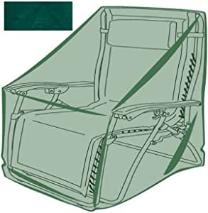 YuZhixuan Patio Zero Gravity Folding Chair Cover 37 x 32 inches Waterproof Dustproof Outdoor Folding Chair Protector 1pc