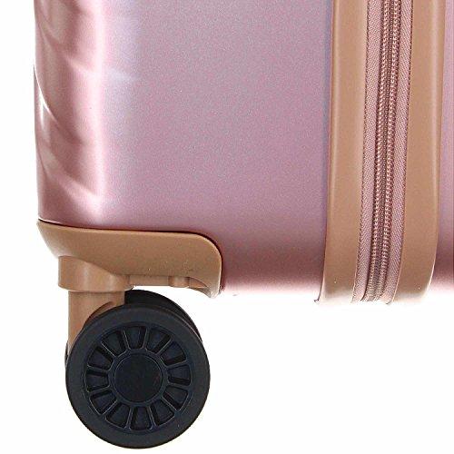 Eurotravel 4 Rollen Koffer 76cm rose