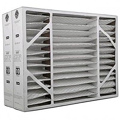 """Heating, Cooling & Air Lennox X0587 (2-Pack) - 20"""" x 26"""" x 5"""" MERV 10 BMAC Furnace Filter"""