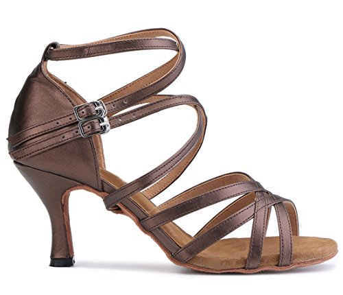 Jazz Heel 5cm 7 Moderno e Donna MGM Joymod Brown 560B8w5Zq