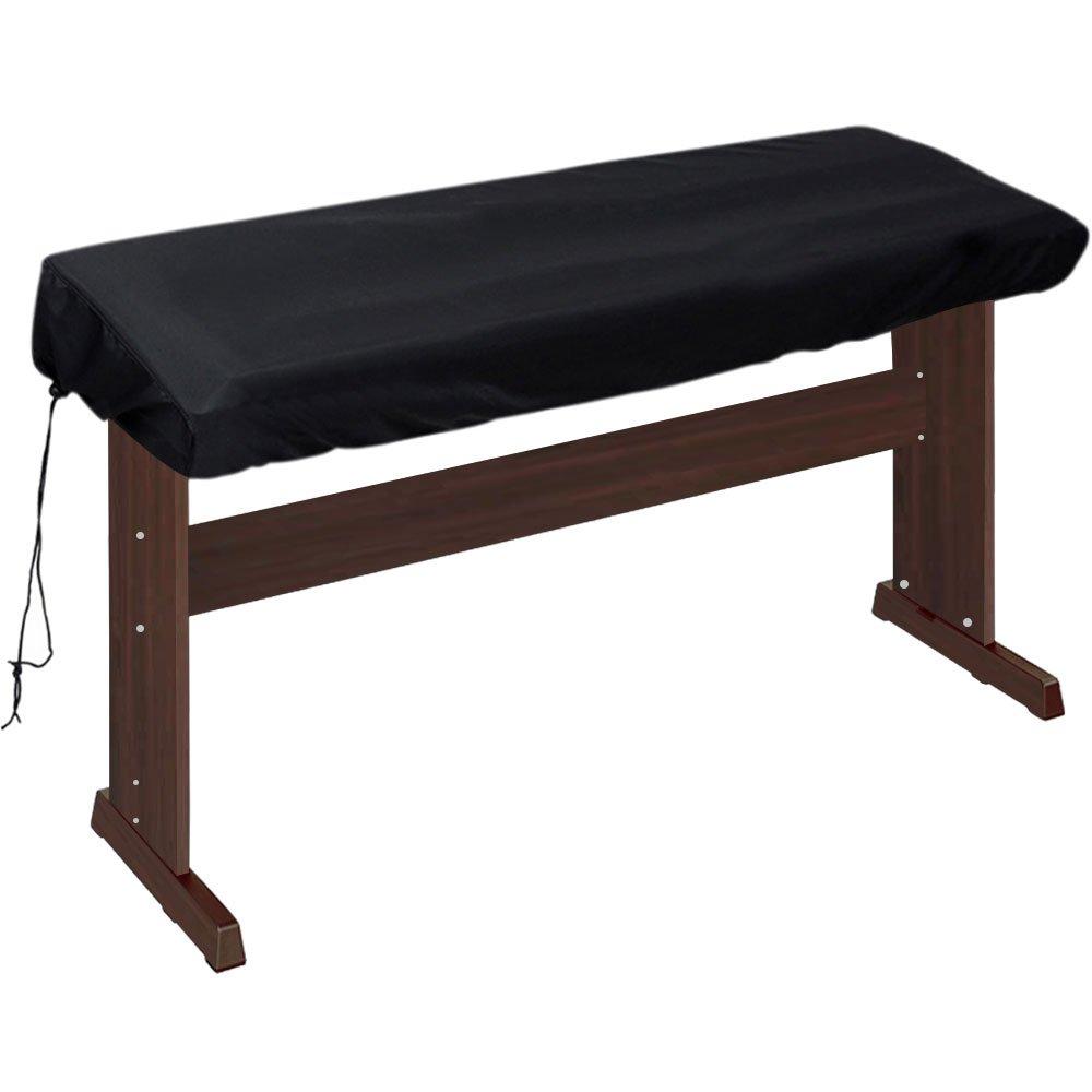 Lictin. Cobertor antipolvo para teclado de piano electrónicos con cordón. Protector para teclado de 88teclas (tamaño: 135x 27x 13cm)