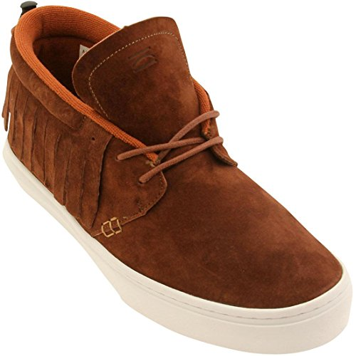 Clear Weather Men The One-O-One (brown / henna suede) Size 10.5 US