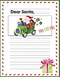 Dear Santa: Letters To Santa - Draw and Write Primary Composition Notebook for Kids (Christmas Activities For Kids)