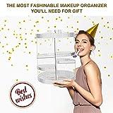 Awenia Makeup Organizer 360-Degree