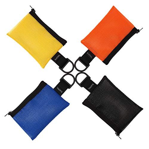 TACK'S BYOB Mesh Wallet Pouch Set (with D-Rings)
