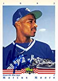 Marcus Moore autographed Baseball Card (Toronto Blue Jays, FT) 1992 Classic Best #160 Rookie